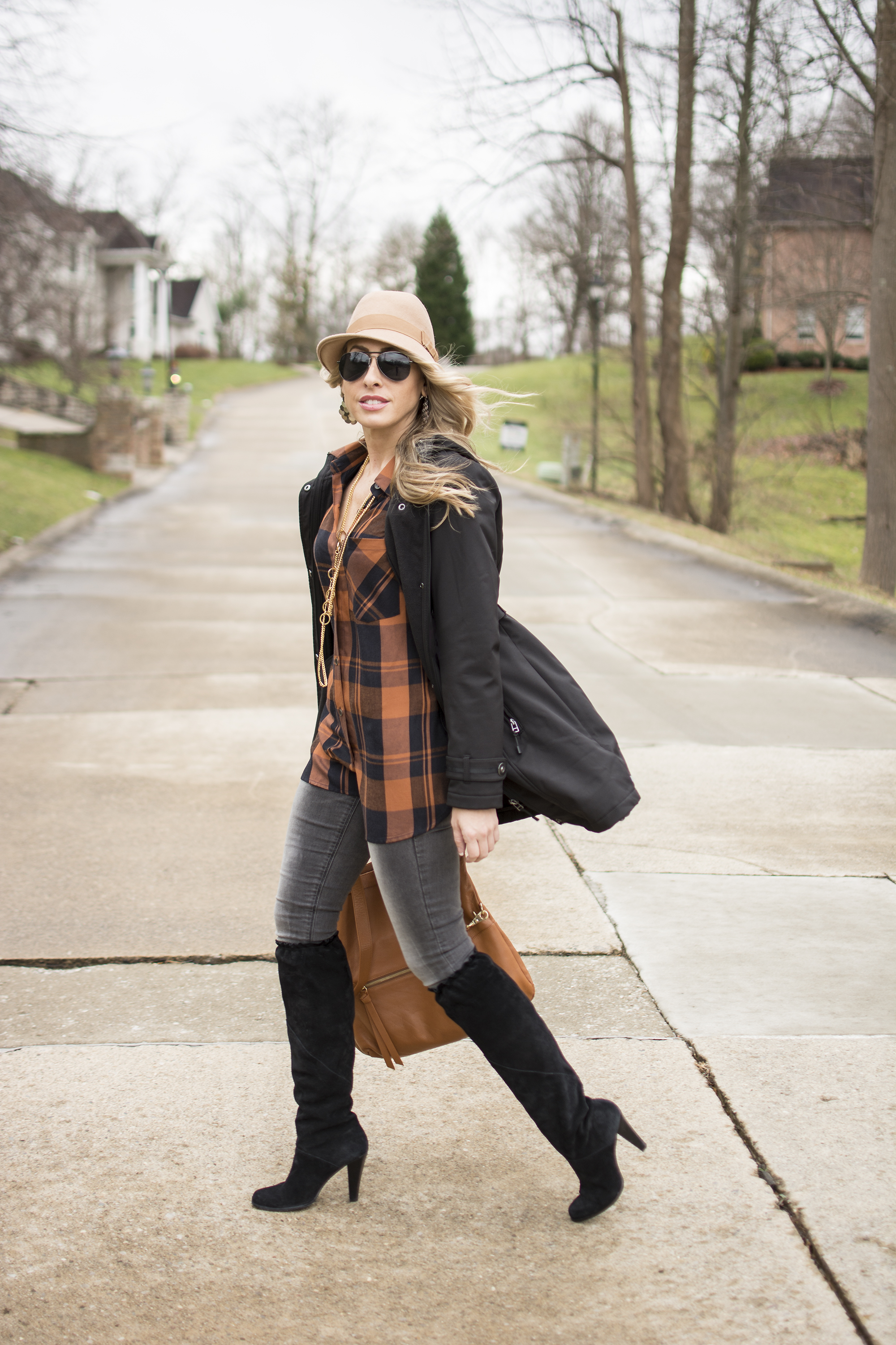 Plaid and Suede