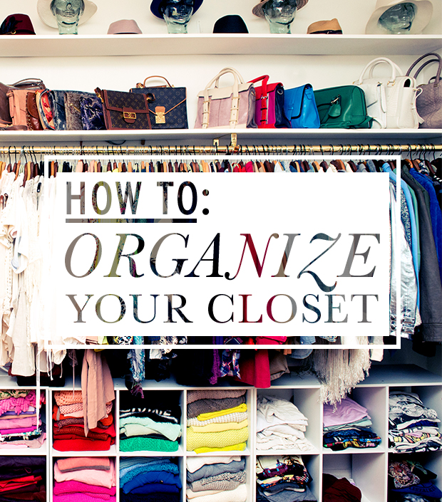 An Organized and Collected Closet