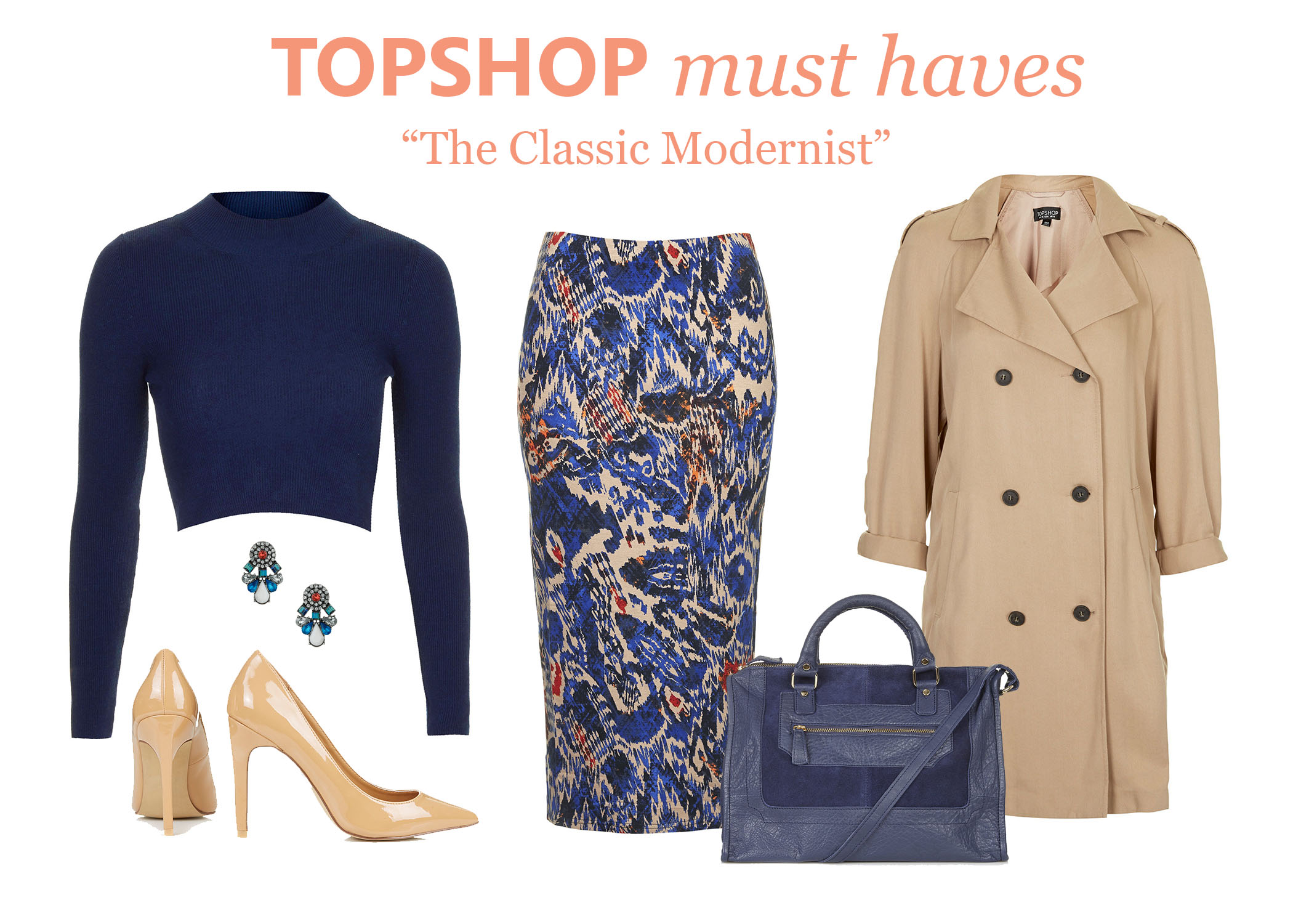 TOPSHOP- Classic Modernist
