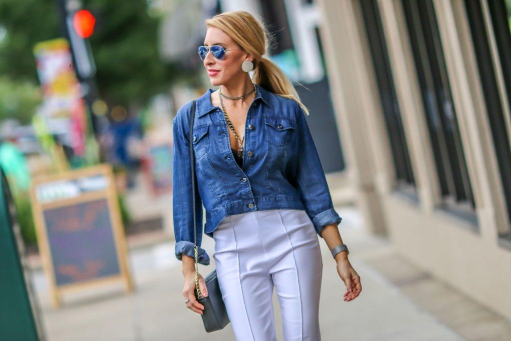 downtown huntington fashion blogger