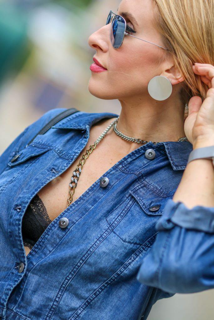 mixed metal jewelry L. George jewelry